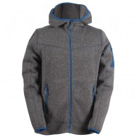 2117 of Sweden Heden mens fleece jacket, grey