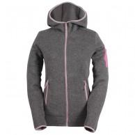 2117 of Sweden Heden womens fleece jacket, grey
