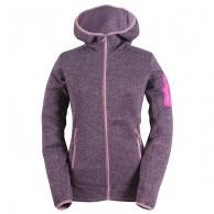 2117 of Sweden Heden womens fleece jacket, purple