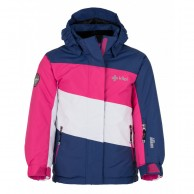 Kilpi Kally-JG, girls ski jacket, blue