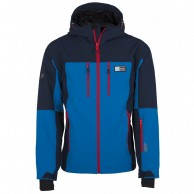 Kilpi Vanuatu-M, mens soft shell jacket, blue