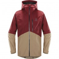 Haglöfs Nengal Ski Jacket, red/oak
