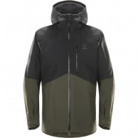 Haglöfs Nengal Ski Jacket, black/dark green