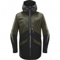 Haglöfs Nengal parka Ski Jacket, dark green/black