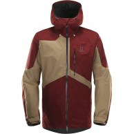 Haglöfs Nengal Insulated Ski Jacket, red/oak