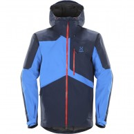 Haglöfs Nengal Insulated Ski Jacket, dark blue/blue