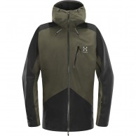 Haglöfs Niva Ski Jacket, dark green/black