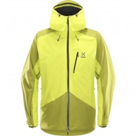 Haglöfs Niva Ski Jacket, yellow
