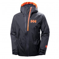 Helly Hansen Nordal ski jacket, mens, blue