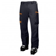 Helly Hansen Backbowl Cargo mens ski pants, dark blue