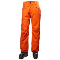 Helly Hansen Sogn Cargo mens ski pants, flame