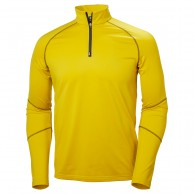 Helly Hansen Phantom 1/2 zip midlayer, yellow