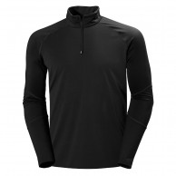 Helly Hansen Phantom midlayer 1/2 zip, black
