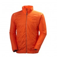 Helly Hansen Sogn Insulator mens ski jacket, flame