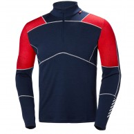 Helly Hansen Lifa Merino Max 1/2 zip, mens, blue