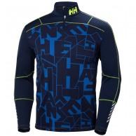 Helly Hansen Lifa Active Graphite 1/2 Zip, mens, blå
