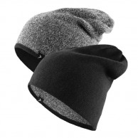 4F outhorn turnable beanie, black