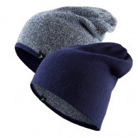 4F outhorn turnable beanie, navy
