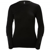 Helly Hansen Lifa Merino Crew, women, black