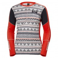 Helly Hansen Lifa Active Graphic Crew, dame, melt down