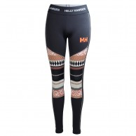 Helly Hansen Lifa Active Graphic pant, dame, blue