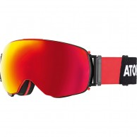 Atomic Revent Q, goggles, black/red