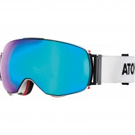 Atomic Revent Q, goggles, white/blue
