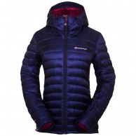 Montane Womens Featherlite Down Jacket, blue
