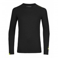 Ortovox Merino 105 Ultra Long Sleeve, black