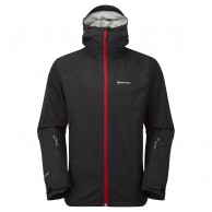 Montane Atomic Jacket, Mens Shell Jacket, Black