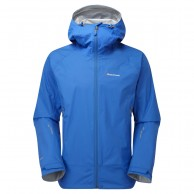 Montane Atomic Jacket, Mens Shell Jacket, electric blue