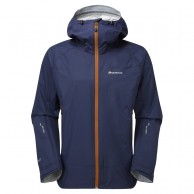 Montane Atomic Jacket, Mens Shell Jacket, dark blue