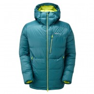 Montane Deep Heat Jacket, down jacket, blue