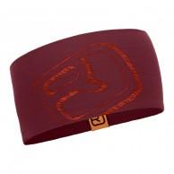Ortovox Merino Cool Logo headband, bordeaux