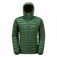 Montane Featherlite Down, Mens Down Jacket, dark green