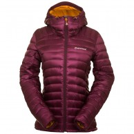 Montane Womens Featherlite Down Jacket, bordeaux red
