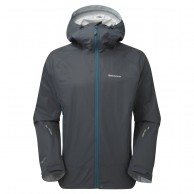 Montane Atomic Jacket, Mens Shell Jacket, Grey