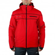 DIEL Alfred mens ski jacket, red