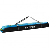 Salomon Extend 1p 135+20 skibag, black/blue