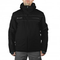 DIEL Alfred mens ski jacket, black/grey
