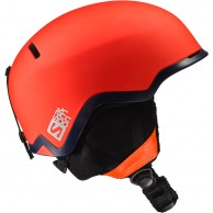 Salomon Hacker Ski Helmet, orange