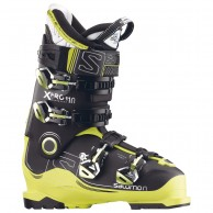 Salomon X PRO 110 ski boots, black/green