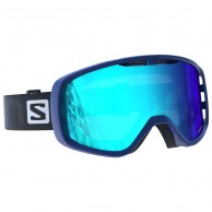 Salomon Aksium goggles, blue
