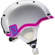 Salomon Grom Ski Helmet, white/pink