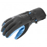Salomon Propeller Dry ski Gloves, black/blue
