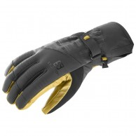 Salomon Propeller Dry ski Gloves, black/yellow