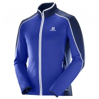 Salomon Atlantis FZ fleecejacket, men, blue