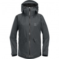 Haglöfs Khione Insulated ski jacket, women, black
