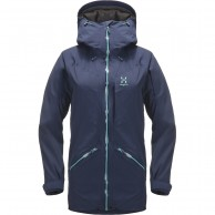 Haglöfs Niva Insulated Parka, women, dark blue