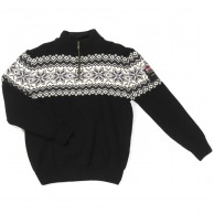 Typhoon Drammen, knitted sweater, black